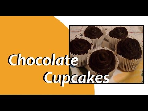 Chocolate Cupcake Recipe ( Quick and Easy )