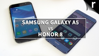 Samsung Galaxy A5 2017 vs Honor 8: Which mid-range mobile is best?