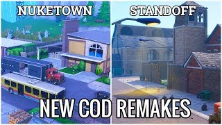 NEW COD Remakes in Fortnite Creative (NUKETOWN & Standoff with Codes)