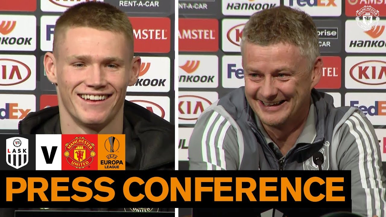 Pre Match Press Conference | LASK v Manchester United | UEFA Europa League