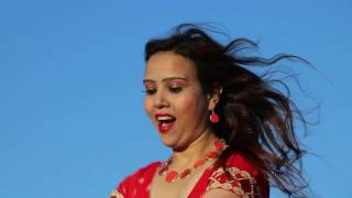 Nepali Christian dance -Nilo Aakash Seto Badal   Christian Song   Neelimaa Koirala