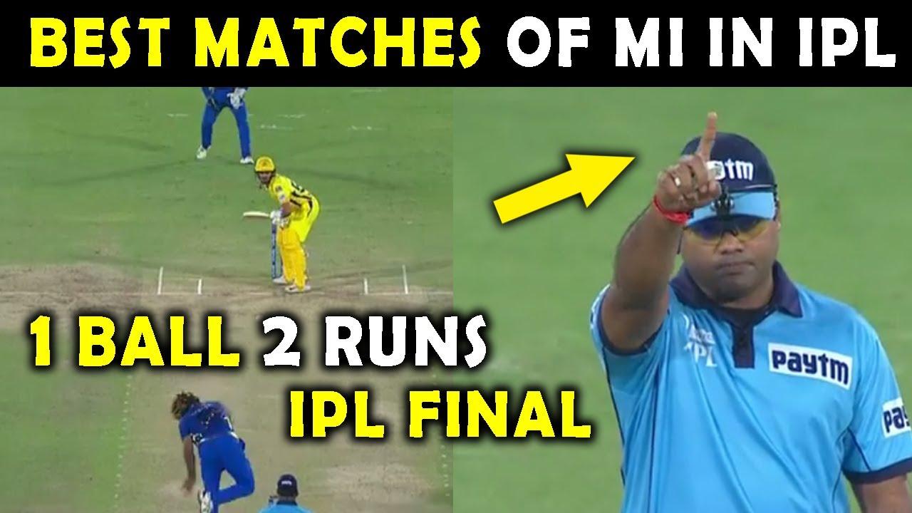 Download IPL 2021 : Best Matches of Mumbai Indians in IPL | Top 5 Moments of MI | IPL Finals | MI Finals