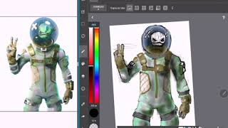 Fortnite: Drawing the Skins #4