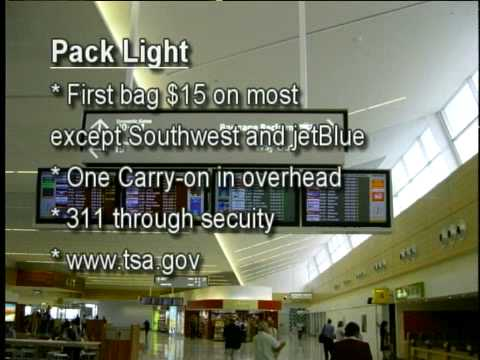 Travel Tips part 1 - Pack Light