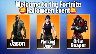 "*NEW* FORTNITE ""HALLOWEEN SKINS"" LEAKED! (HALLOWEEN 2018) - Fortnite Battle Royale"