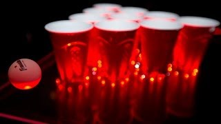 Interactive Beer Pong At The Underground