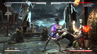 Mortal Kombat X: Kitana Mournful Combo Video!