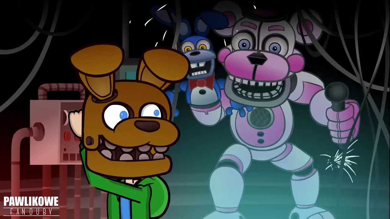 Five Nights At Freddy's Sister Location Animation | Jacksepticeye Animated (Dubbing PL)