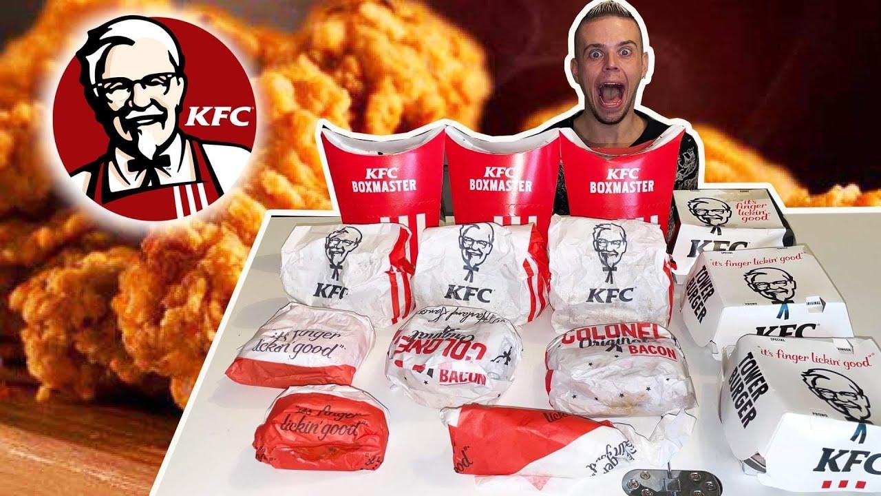 Download JE MANGE TOUTE LA CARTE de KFC !!
