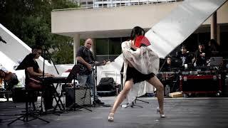 Calina Yang - Dancing and Performing with NSA band