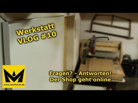 Werkstatt VLOG #10 | Fragen? - Antworten | Der Onlineshop geht online