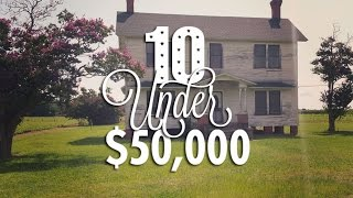 10 Ultra-Cheap Fixer Upper Houses for Sale for Under $50,000