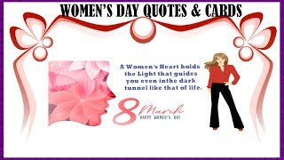 Women's Day Quotes | Women's Day Special | Women's Day Cards |Kids Fun Learning