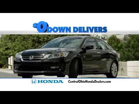 Central Ohio Honda Dealers Zero Down Event