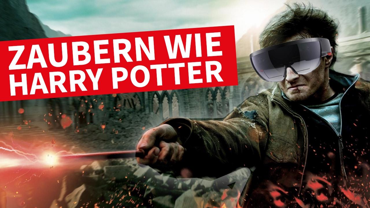 SO Kannst Du Wie Harry Potter Zaubern!