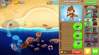 Bloons Tower Defense 6 off the coast easy