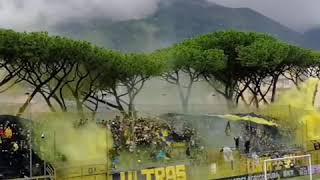 Juve Stabia   Benevento • 2019/2020 •derby Serie B • Curva Sud Castellammare Di Stabia