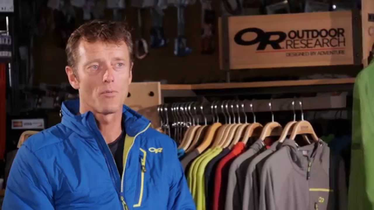 Outdoor Research Superlayer Jacket Youtube
