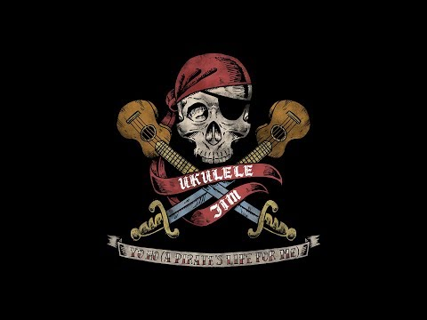 Yo Ho A Pirates Life for Me   song  Ukulele Jim