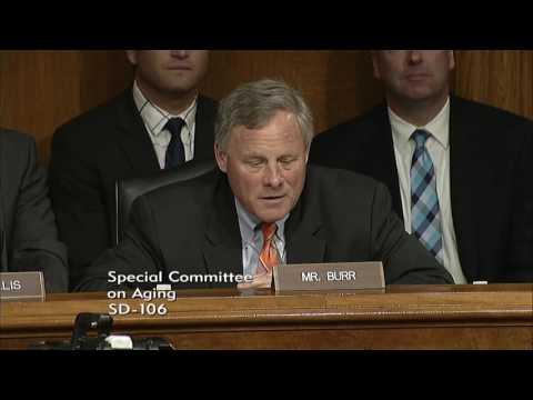 Senator Burr Introduces Former Senator Elizabeth Dole