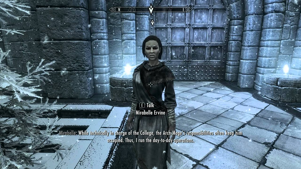how to join the mages guild in skyrim