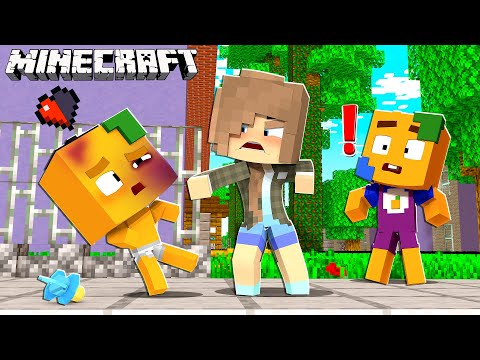 LEHRERIN schlägt KIND in Schule in Minecraft!