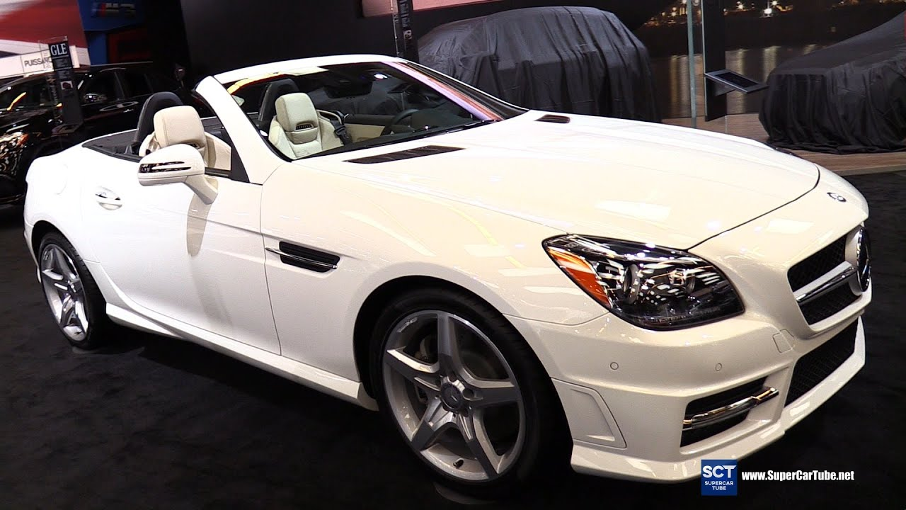 2016 mercedes benz slk class slk 350 roadster exterior interior walkaround 2016 montreal auto show youtube