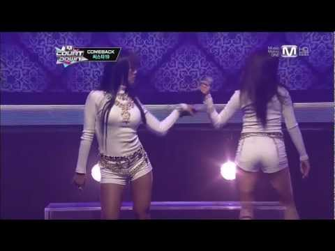 [130131] SISTAR19 - Gone Not Around Any Longer @ M! Countdown (Comeback Stage)