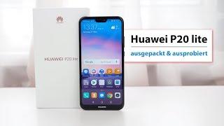Huawei P20 lite Unboxing & erster Eindruck | deutsch
