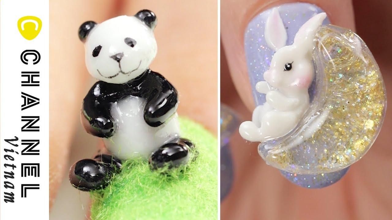 Những mẫu nails siêu thực lạ mắt chống chỉ định cho các nàng dâu mới không nên làm trong dịp Tết