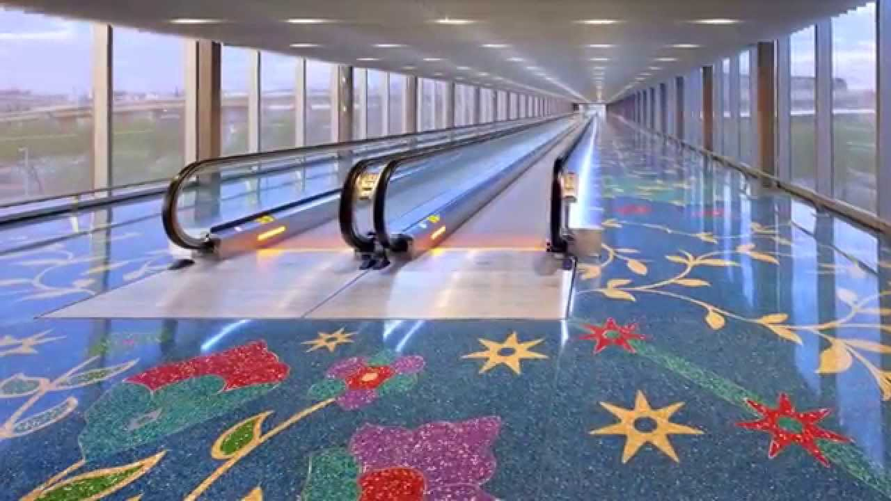 City Of Phoenix Terrazzo Floor Youtube