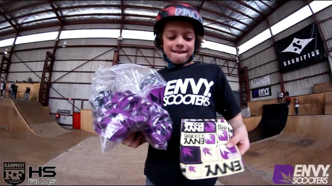 envy scooters best trick comp rampfest youtube