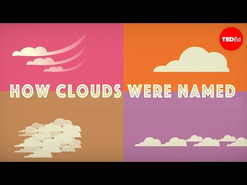Video image: How did clouds get their names? - Richard Hamblyn