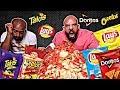 حلقة اسالني مع ١٠،٠٠٠ سعرة من الشيبس 🤪 Q & A with 10,000 Calories of Chips