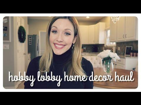 hobby lobby home decor haul | spring 2017