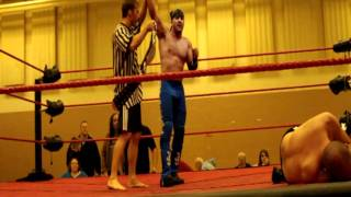 Wrestler Cameron Matthews Gets Physically Involved