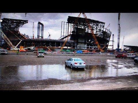 Oakland Raiders Las Vegas Stadium Construction Delayed By Rain Again Says JediRich Lightowler