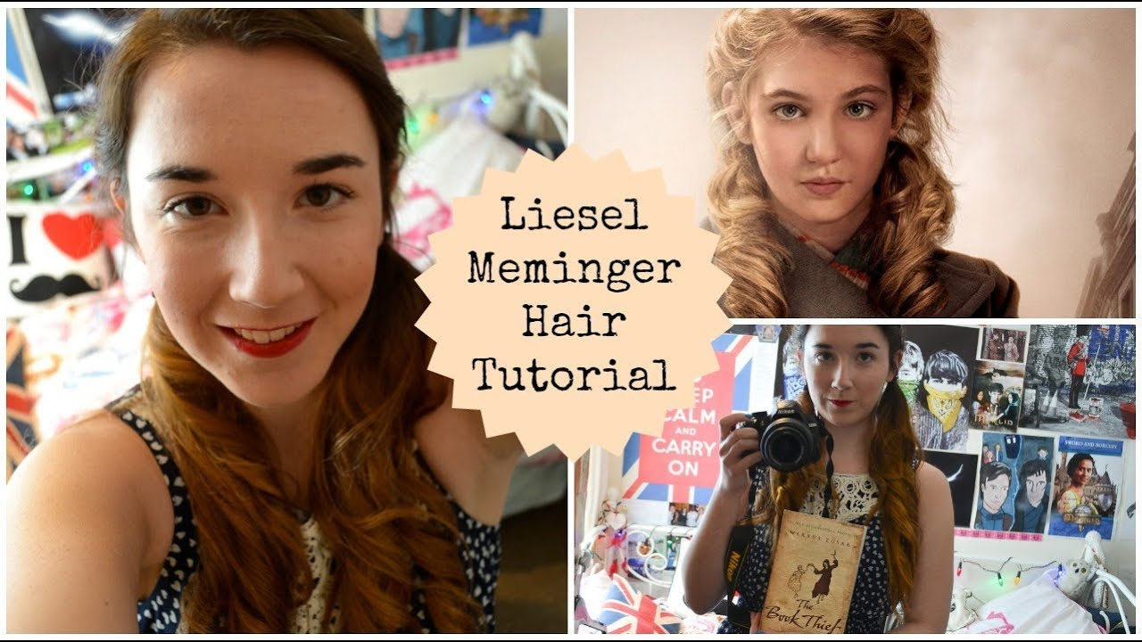Liesel Meminger Hair Tutorial - YouTube
