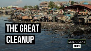 Manila Bay's clean up moves communities out of the big city