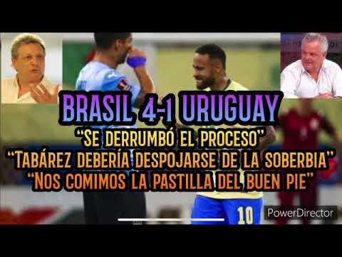 """KESMAN y FARÍA ENTIERRAN a la selección ⚽️ BRASIL 4-1 URUGUAY • """"La decisión está en Tabárez"""" 🎧"""