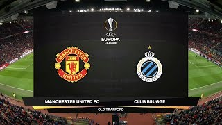 UEFA Europa League | Manchester United v Club Brugge KV | Highlights