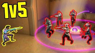 These 1v5 HERO Momęnts Make Players SMASH THEIR KEYBOARDS...