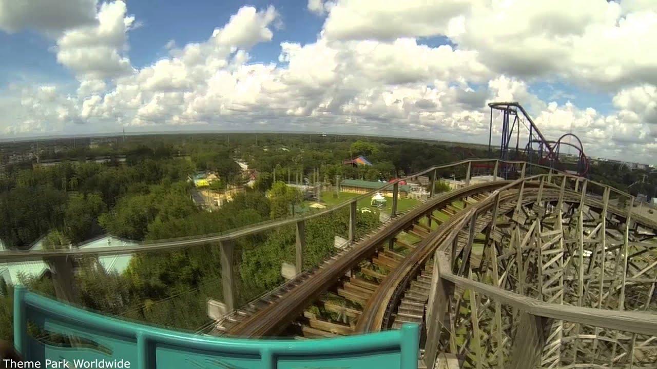 Gwazi Front Row On Ride HD POV Busch Gardens Tampa - YouTube