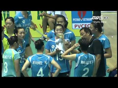 HD [Semi Final] Bangkok Glass(THA) vs Zhejiang(CHN):Asian Women's Club Volleyball Championship 2015