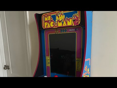 Ms. PAC-Man #arcade1up from The Eat Kitchen