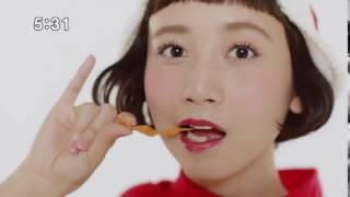 ベビースター パンメン かわいいCMダンス 三戸なつめ ハナビラ おやつカ...