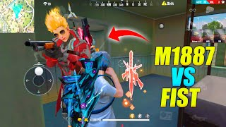 M1887 vs Fist Karan OP Gameplay Reaction || Amazing Headshots Solo vs Duo || Garena Free Fire