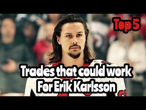 NHL Top 5 Erik Karlsson TRADES That Could Happen