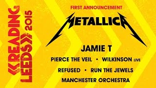 Metallica Announced | Reading & Leeds 2015