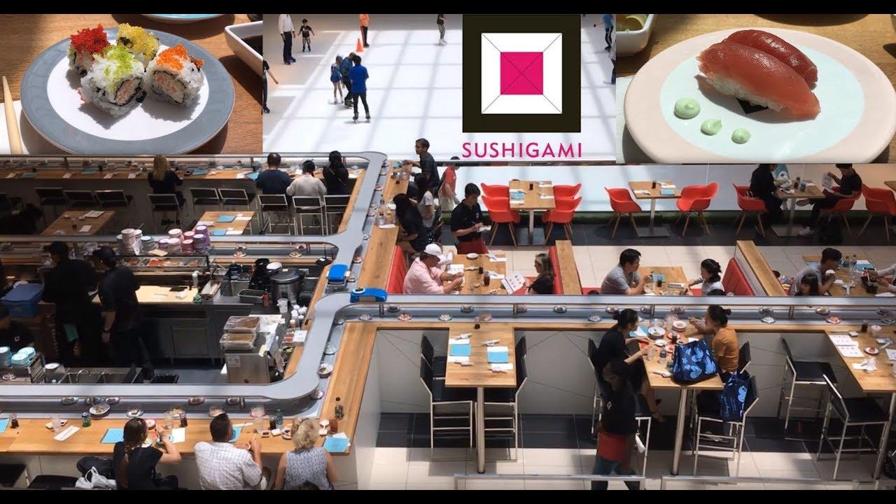 Conveyor Belt Sushi In Houston Galleria Sushigami